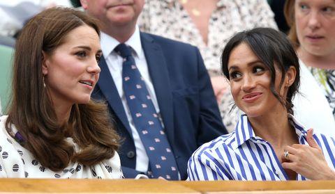 Kate Middleton y Mehan Markle acuden a su primer acto en solitario juntas.