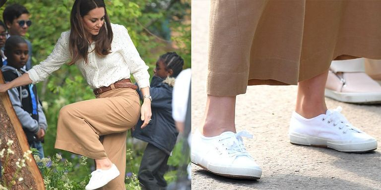 Hurry, Because Kate Middleton's Favorite White Sneakers Are on Mega Sale Right Now