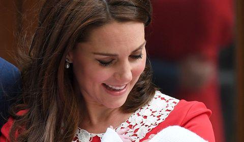 Sabemos el nombre del hijo de Kate Middleton y Guillermo