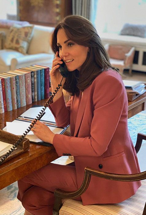 kate middleton on the phone