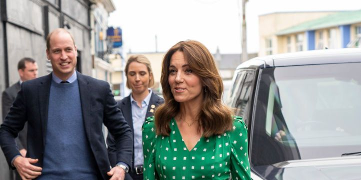 We love the Duchess of Cambridge's bright Zara jumper