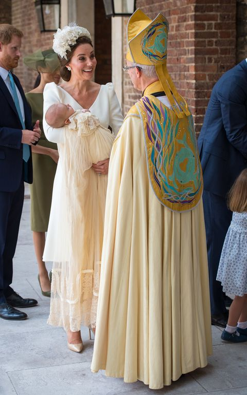 Kate Middleton Cracked a Hilarious Joke at Prince Louis' Christening and Everyone Missed It