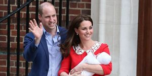 Prince William, Kate Middleton, Prince Louis, christening