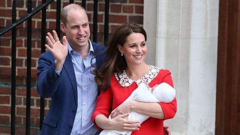 Prince William, Kate Middleton, Prince Louis, christening