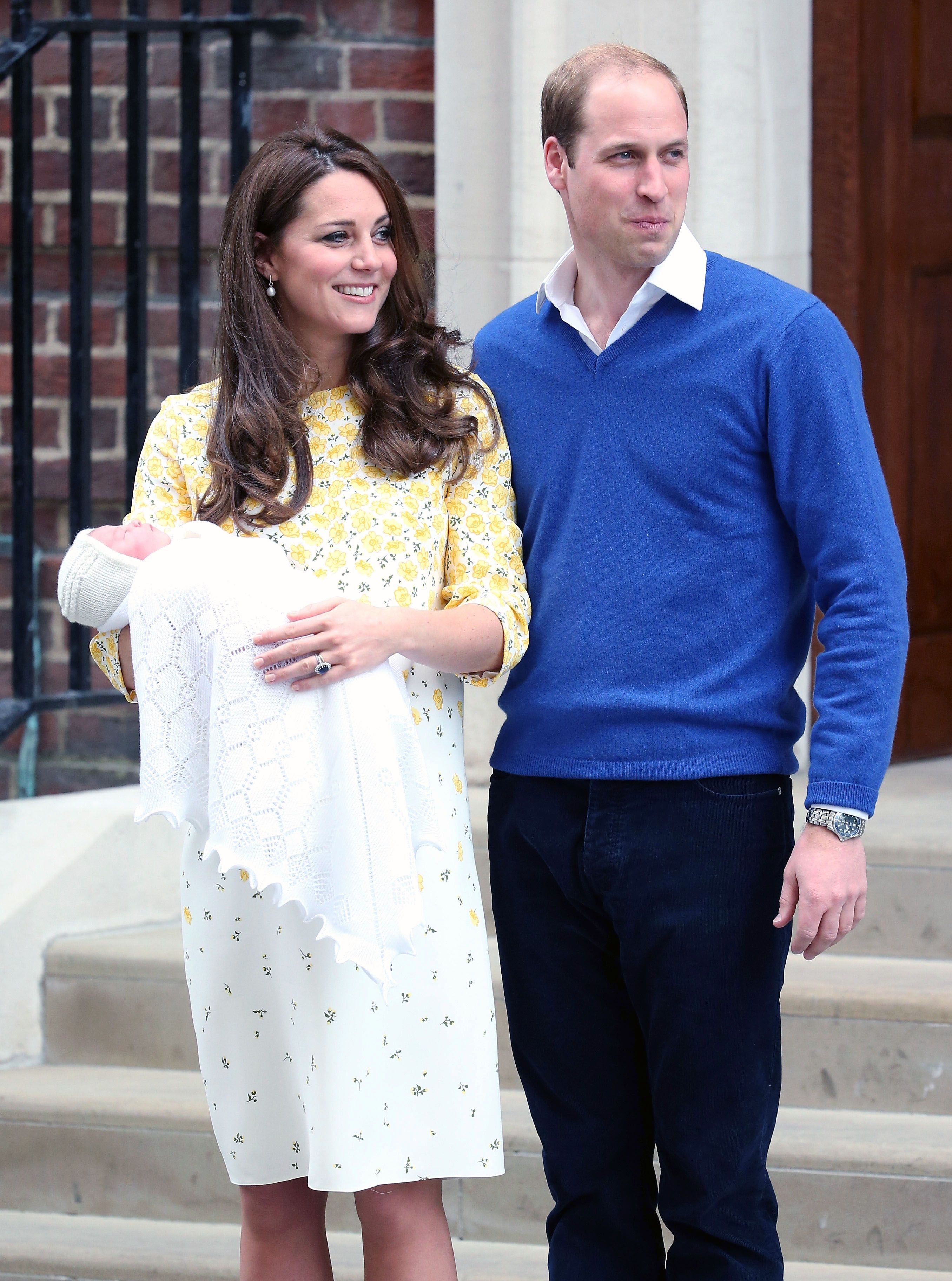 "Kate Middleton Says Prince William Felt ""Helpless"" During Her Pregnancies"