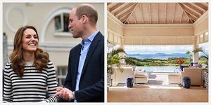 kate middleton prince william mustique villa antilles