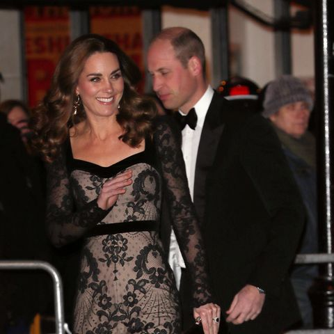 Prince William, Kate Middleton, Royal Variety Show, date night