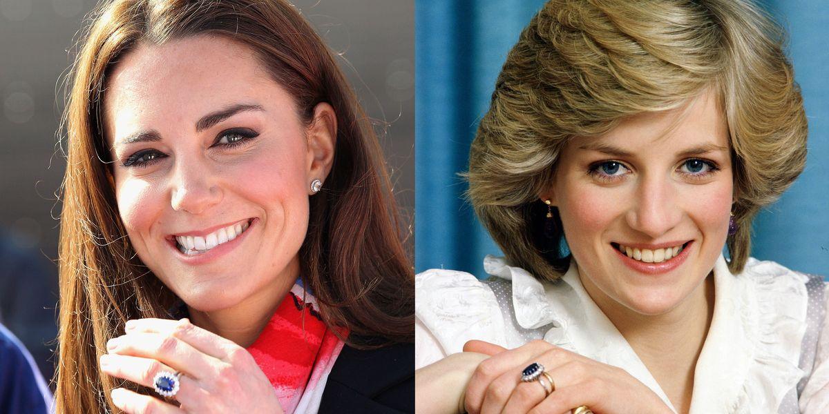 Kate Middleton Amp Princess Diana S Engagement Ring Is