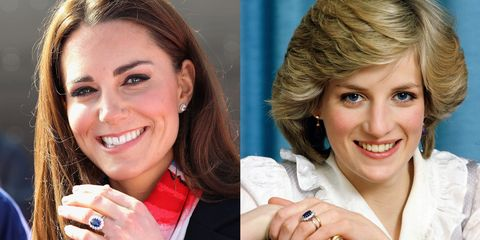 Kate Middleton Princess Diana S Engagement Ring Is Controversial For A Surprising Reason