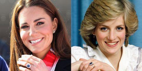 Princess Diana Wedding Ring.Kate Middleton Princess Diana S Engagement Ring Is Controversial
