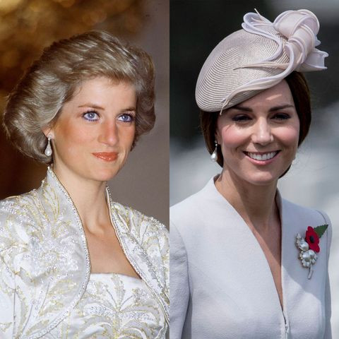 kate middleton princess diana collingwood pearl earrings