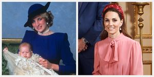 princess diana pearl earrings kate middleton prince harry archie harrison christening