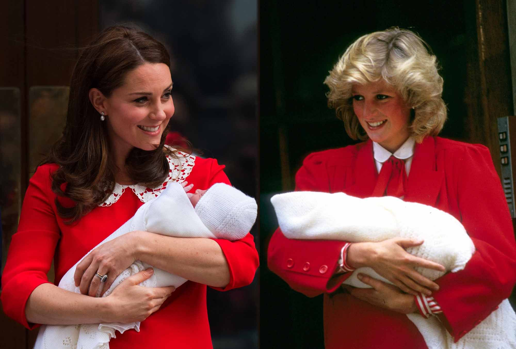 Kate Middleton Accidentally Wore a Dress from Rosemarys Baby for Prince Louis Debut