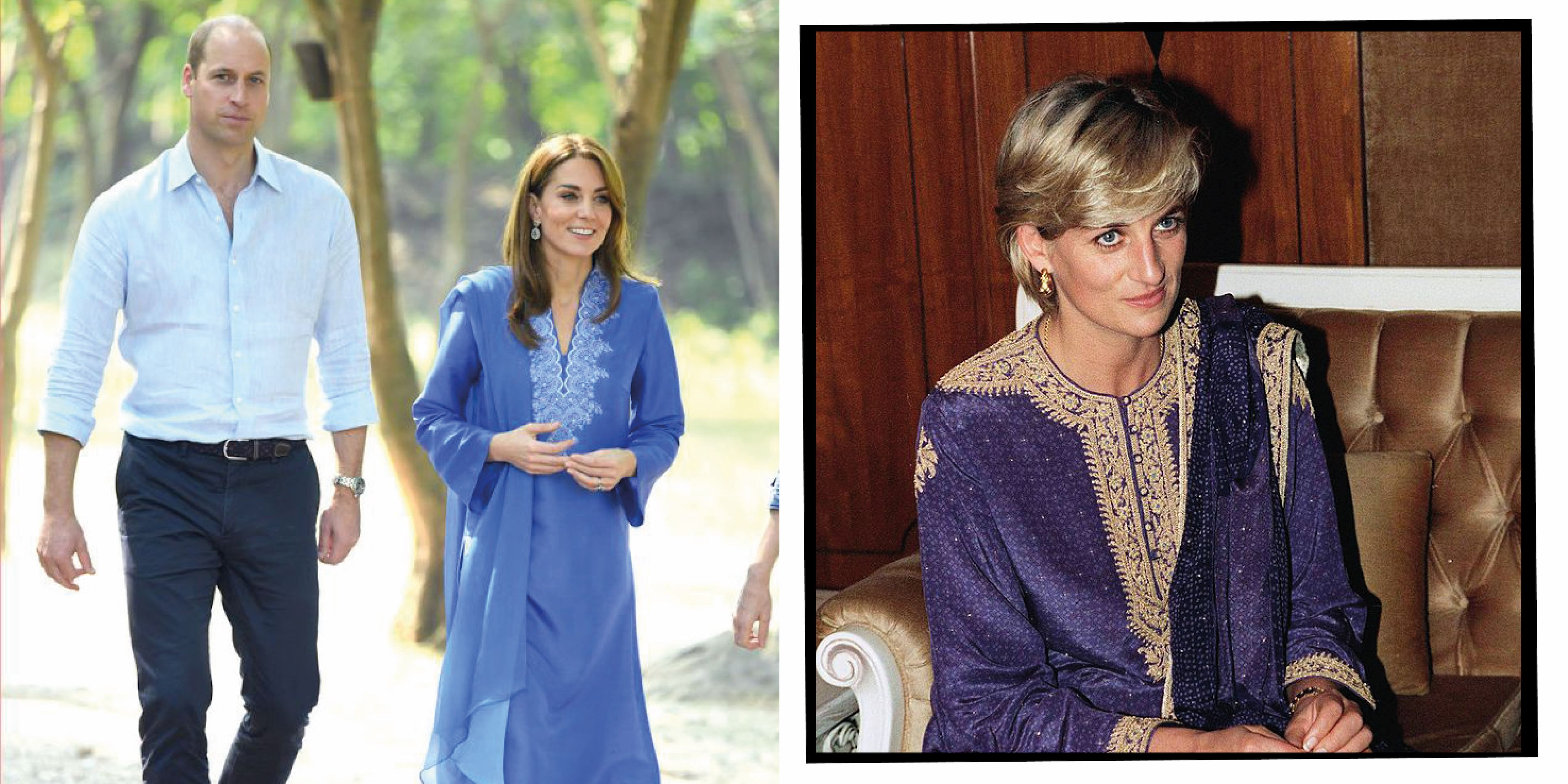 Kate Middleton And Princess Diana's Style: Every Time The Duchess Of Cambridge Twinned With Lady Diana Spencer