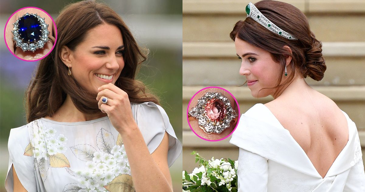 Princess Eugenie S Engagement Ring Is Rarer Than Kate Middleton S