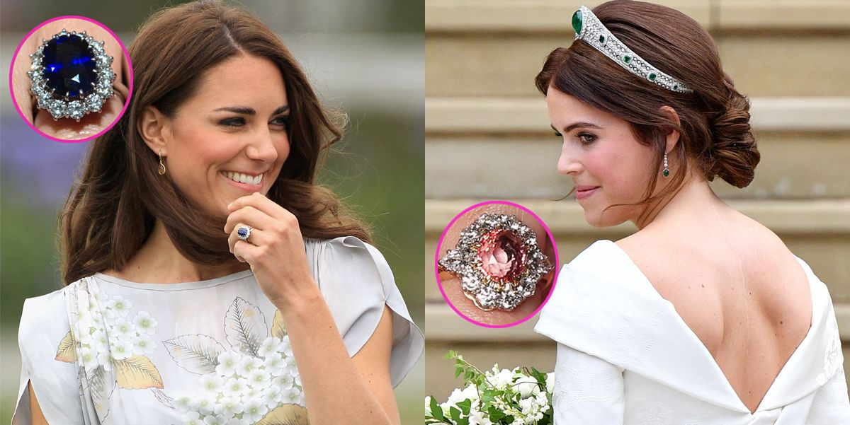 princess eugenie s engagement ring is rarer than kate middleton s engagement ring is rarer than kate