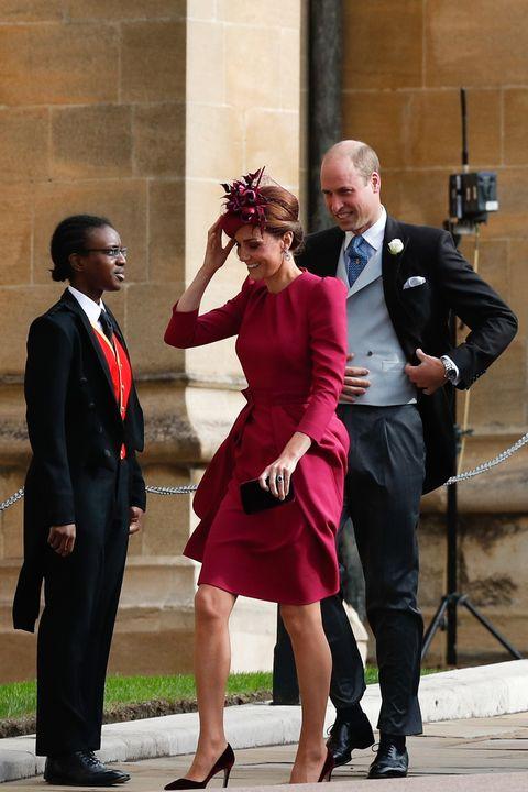 Kate Middleton Princess Eugenie wedding