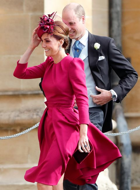 1703e83362cd Kate Middleton Wore Her Alexander McQueen Dress from Eugenie s ...