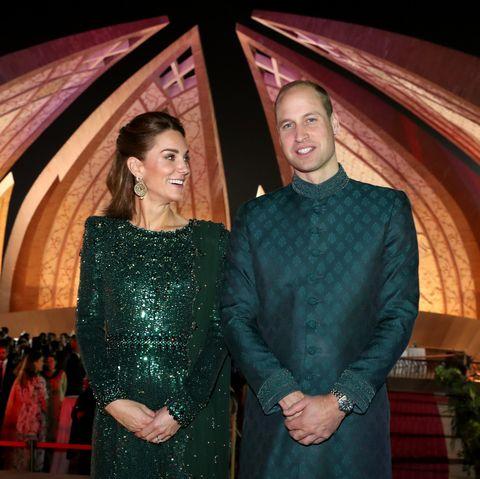 Los duques de Cambridge en Pakistán