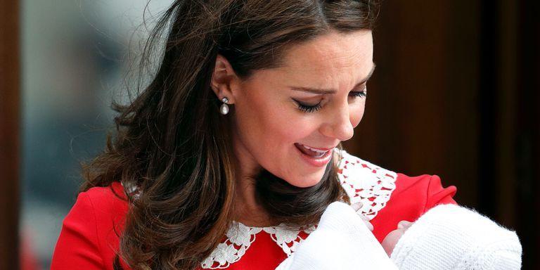 Kate Middleton en Prins Louis