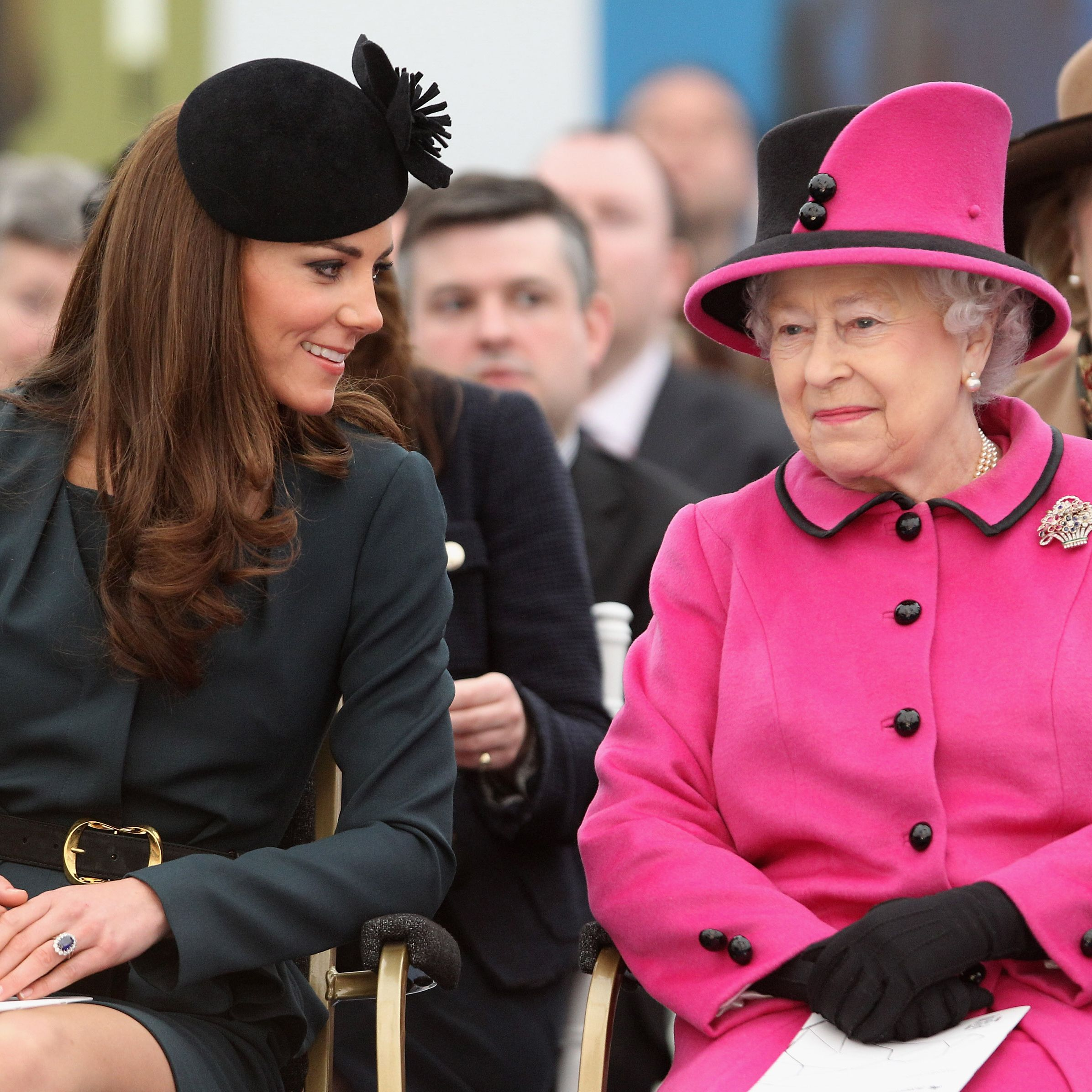 2b7e794440ed What Kate Middleton and Queen Elizabeth II s Relationship Is Really Like