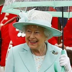 kate middleton queen elizabeth meghan markle prince harry umbrella