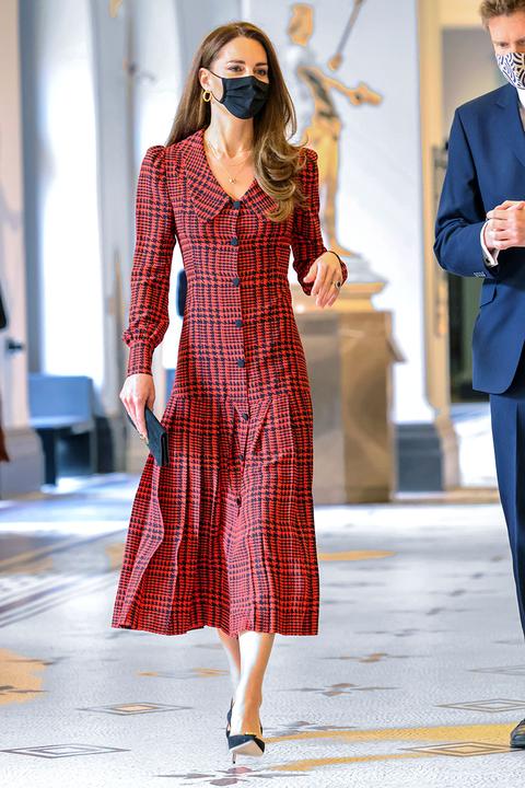 kate middleton red dress