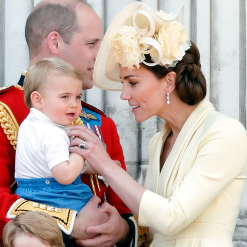 Prince Louis update pictures Kate Middleton quotes favourite song talking now age birthday
