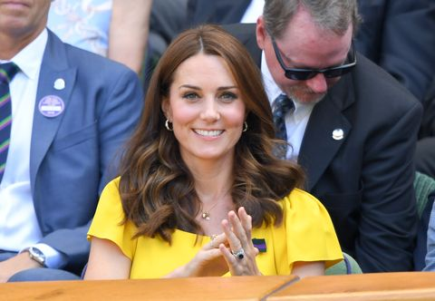 The Duchess Of Cambridge Wore A Beautiful Diamond Ring