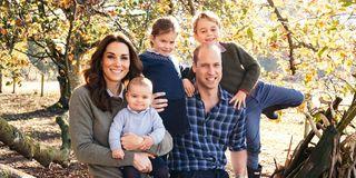 Royal Family Kate Middleton Christmas Card