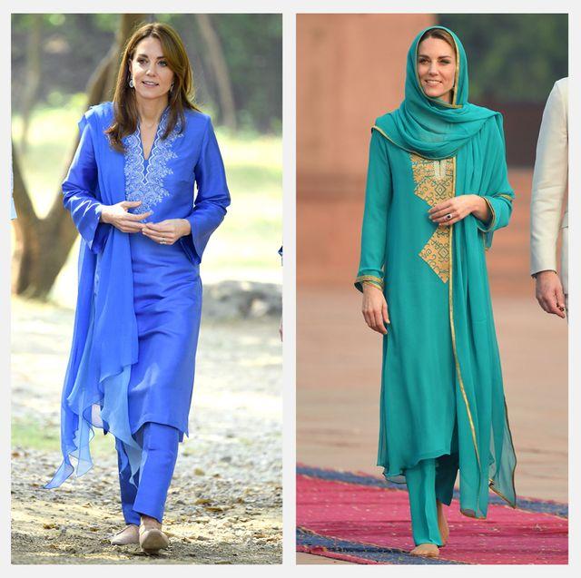 kate middleton royal tour pakistan fashion style