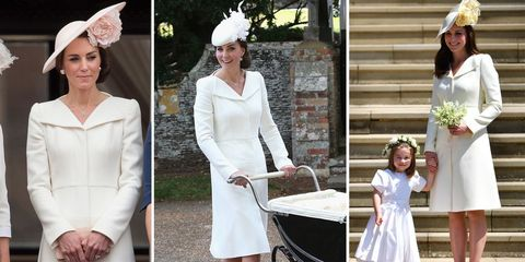 087b8e8a881 Kate Middleton has worn her royal wedding outfit three times before