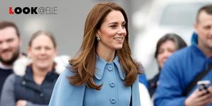 Kate Middleton scarpe stivali moda 2019