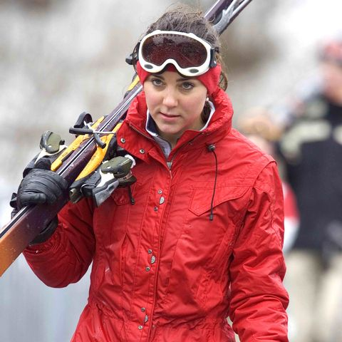 kate middleton skiing in klosters