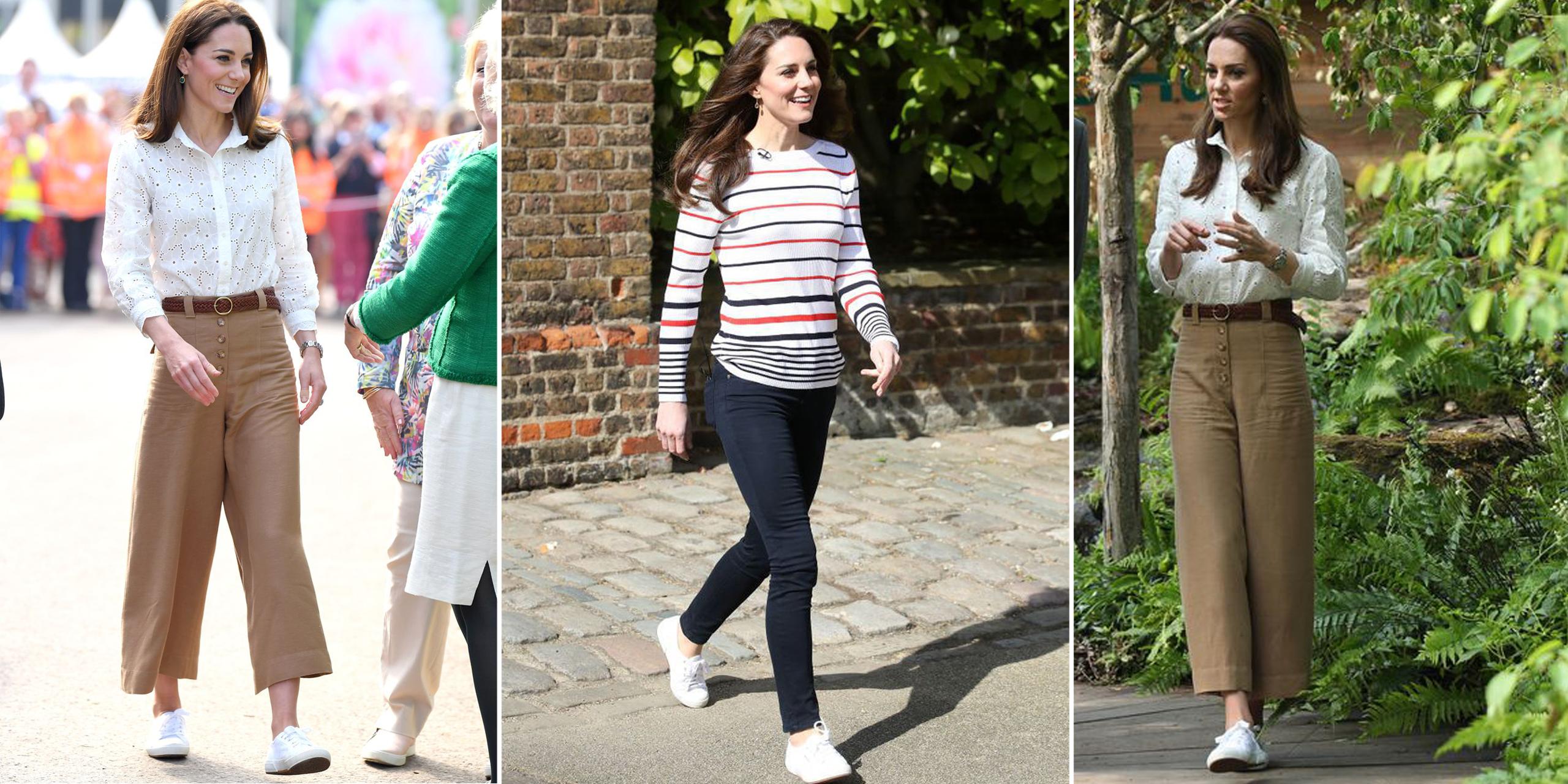 Superga Sneakers - Kate Middleton Shoes