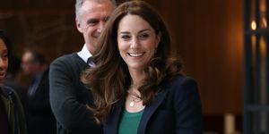 Kate Middleton bezoekt het London Stadium en haar liefdadigheidsproject SportsAid.