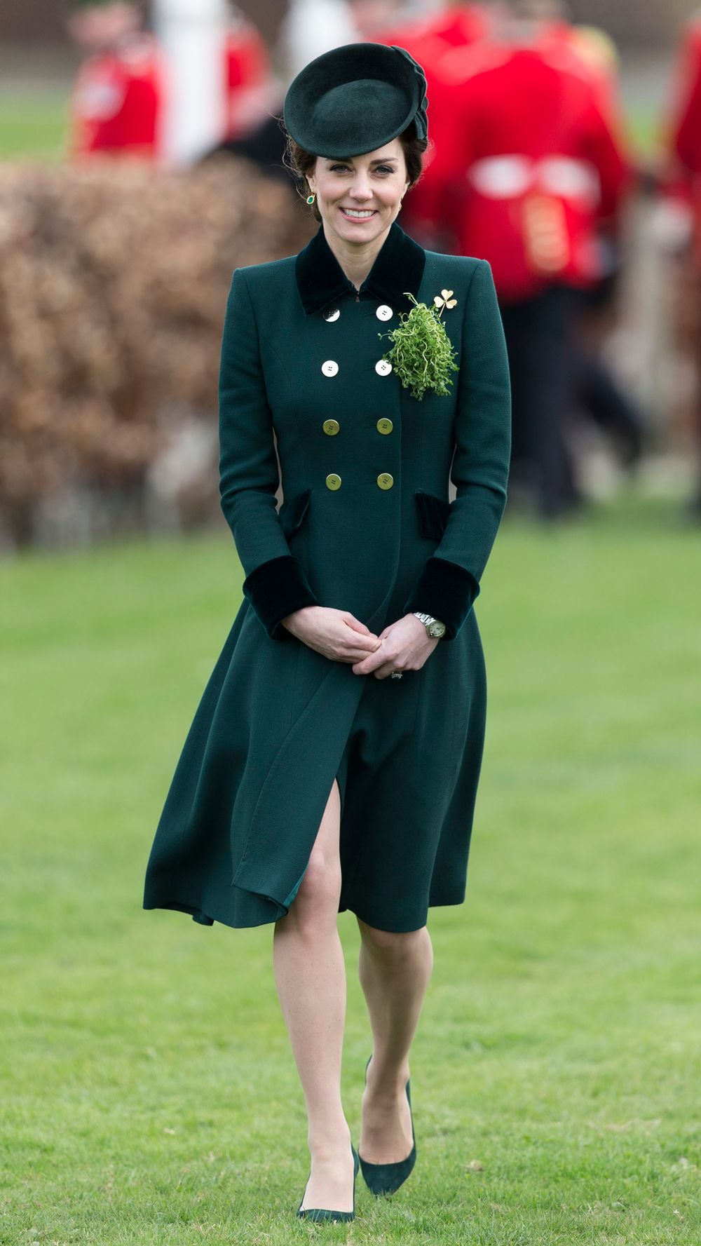 Kate Middleton Style The Duchess Best Ever Dresses And Outfits Tendencies Hats Classic Fist Bump Navy