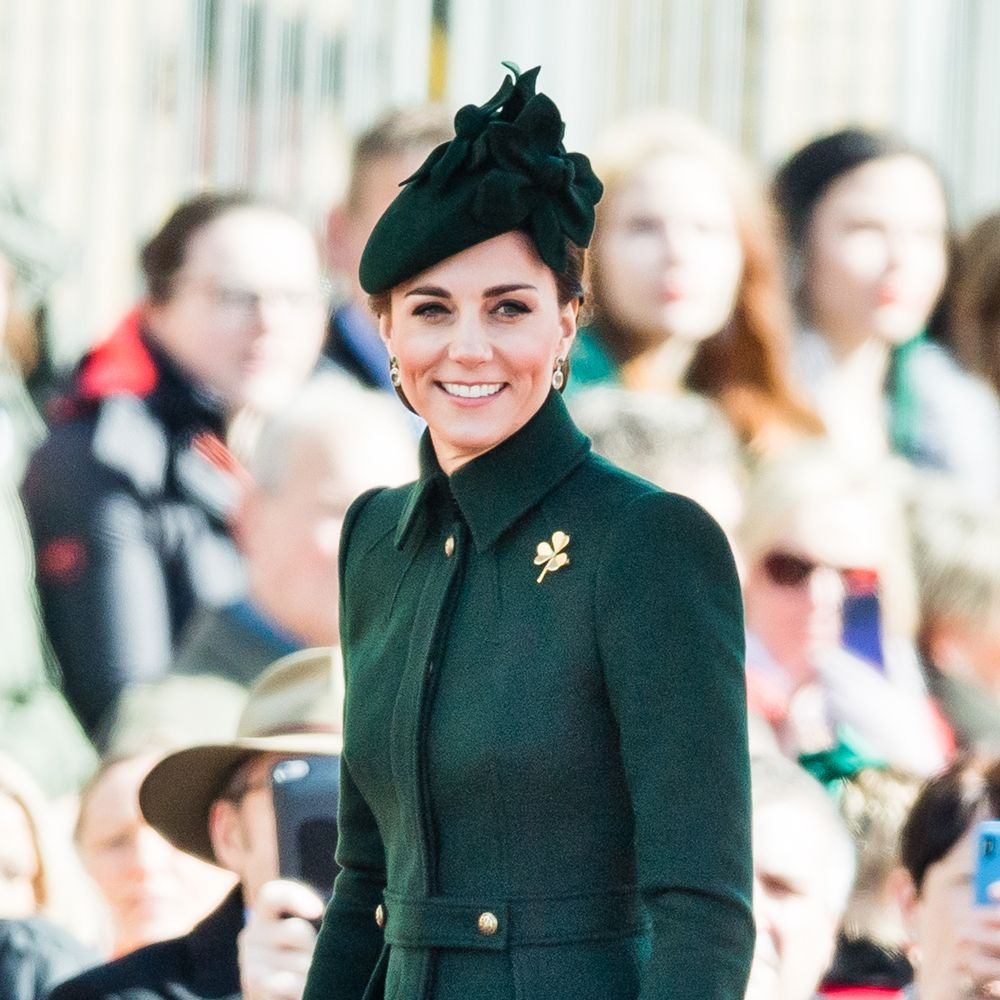 Kate Middleton just wore head-to-toe green for St Patrick's Day