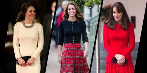 11e78760b9f9 Kate Middleton's Best Christmas Fashion - Kate Middleton's Greatest ...