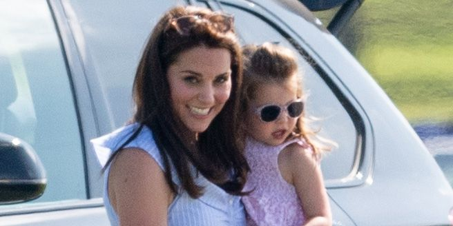 Картинки по запросу Kate Enjoys Family Day Out With George And Charlotte At The Polo