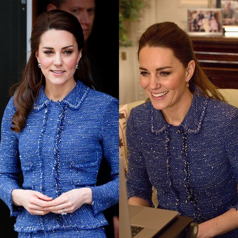kate middleton tweed jacket rewear