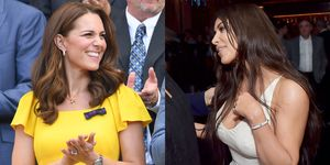 Kate Middleton versus Kim Kardashian Who wore it better dolce & gabbana tas
