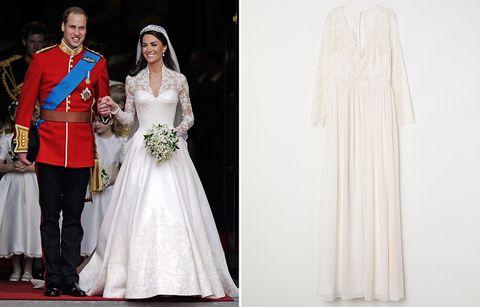2e923c24f H M copia los vestidos de novia de Kate y Pippa Middleton
