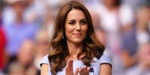 Kate Middleton deslumbra en la final de Wimbledon