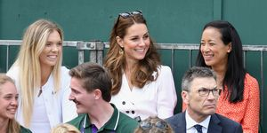Kate Middleton attends Wimbledon without Meghan Markle this year