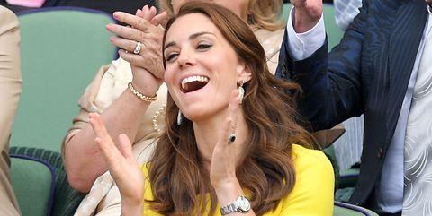 Kate Middleton at Wimbledon  - Kate Middleton and Prince William