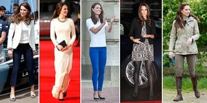 Kate Middleton wearing Zara
