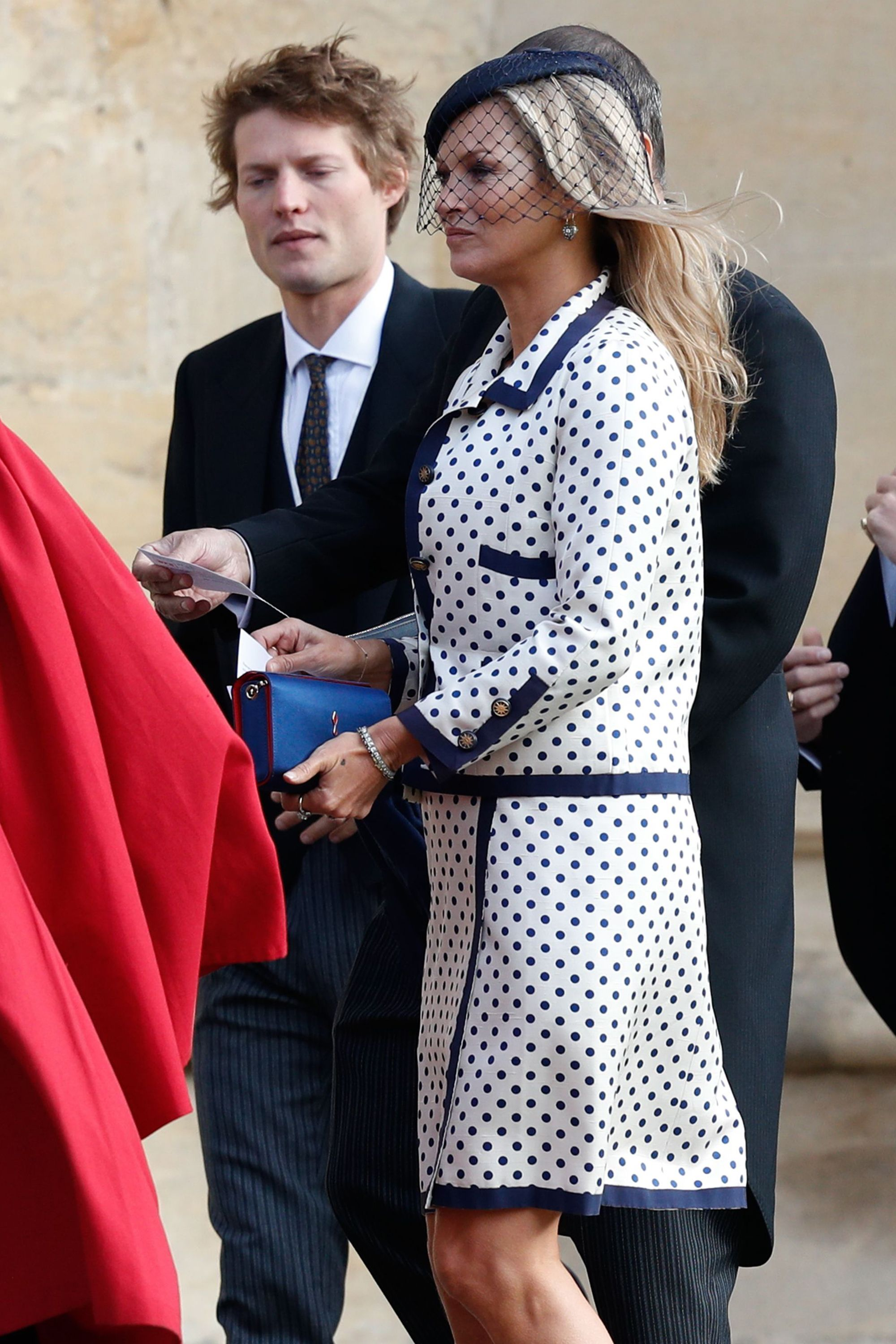 Kate Moss royal wedding guest