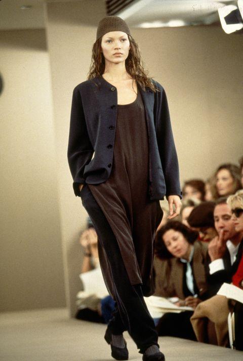 Kate Moss Calvin Klein Spring 1993