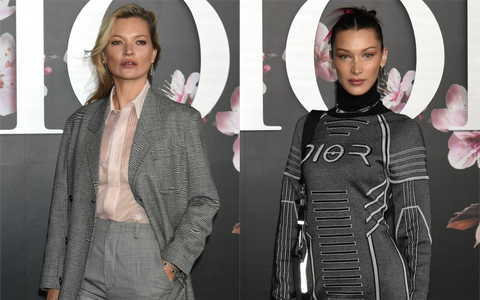 Kate Moss and Bella Hadid attend the Dior cruise show in Tokyo fc514b83387